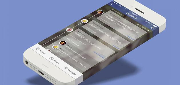 ios7-facebook-concept
